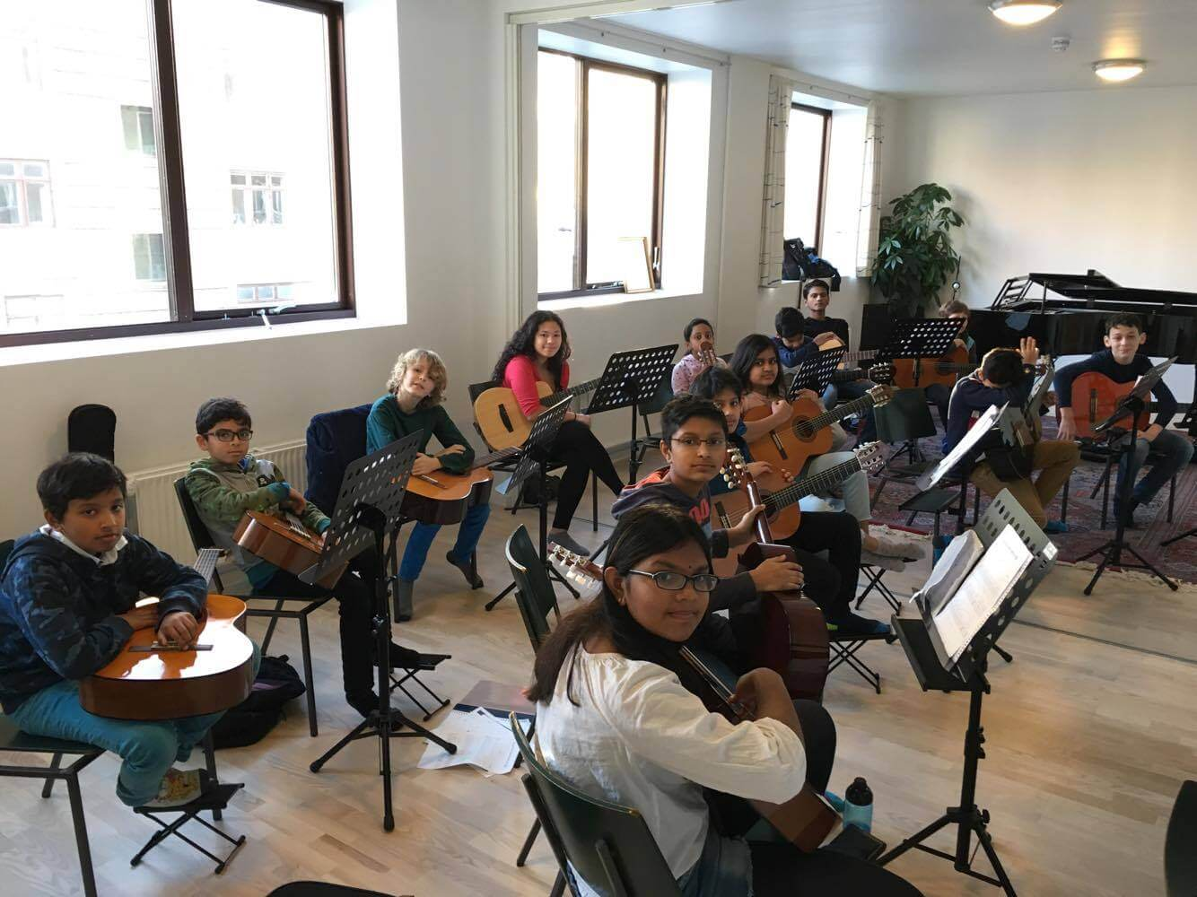 Orchestra project rehearsals 5