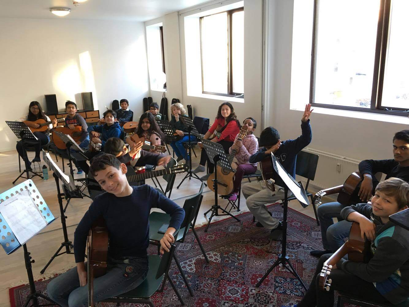 Orchestra project rehearsals 6