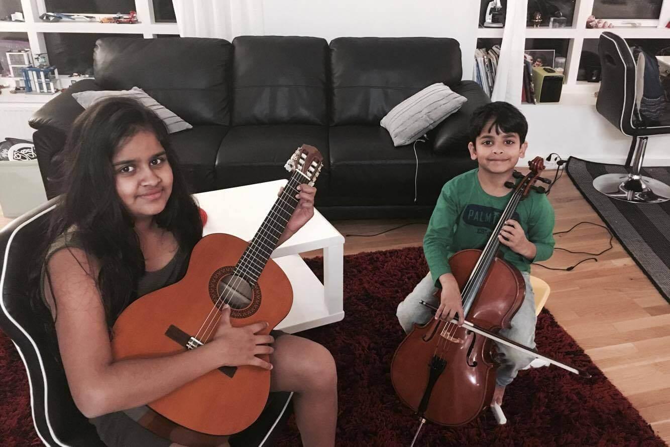 Guitar and cello
