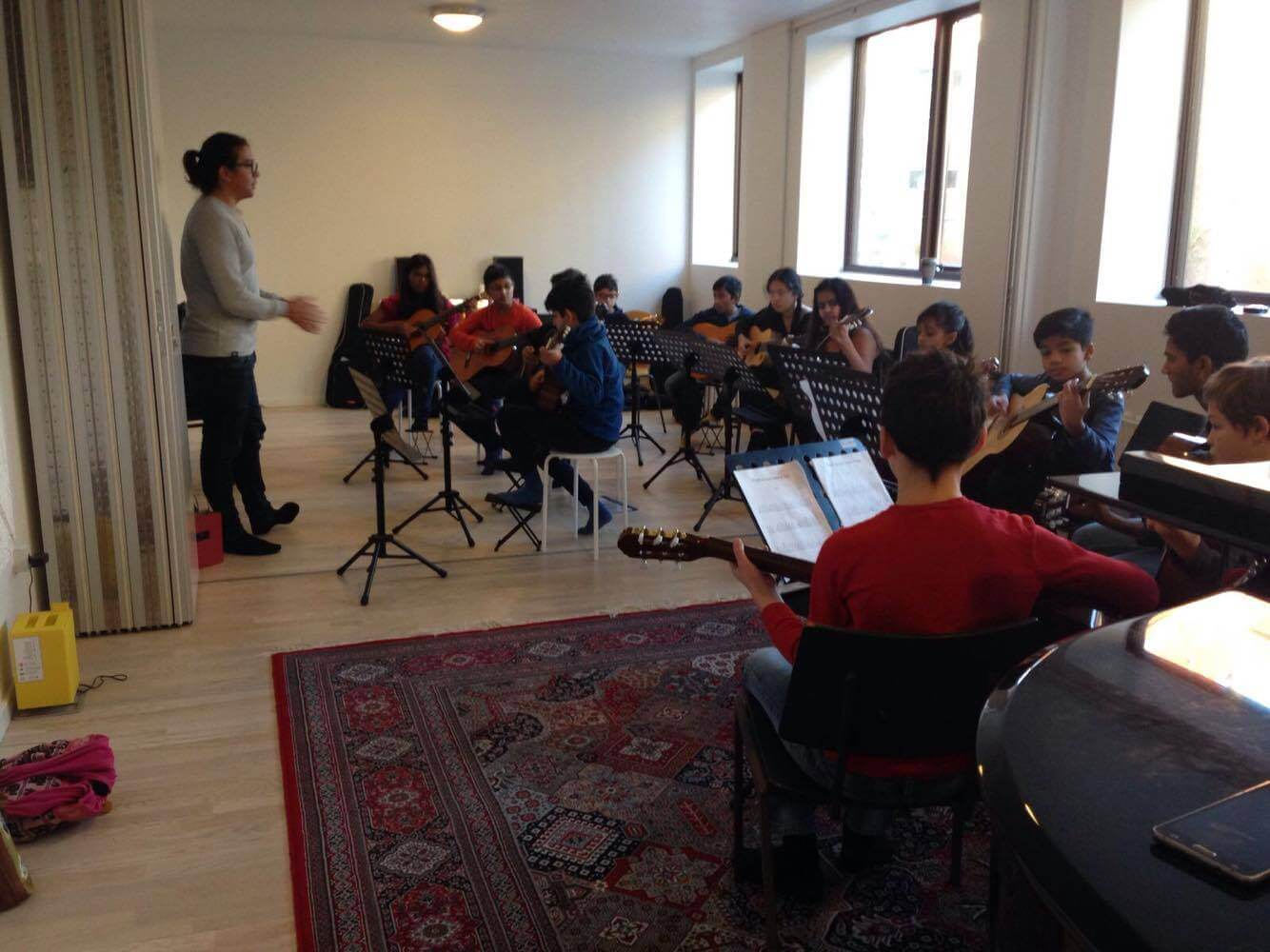 Orchestra project rehearsals 3