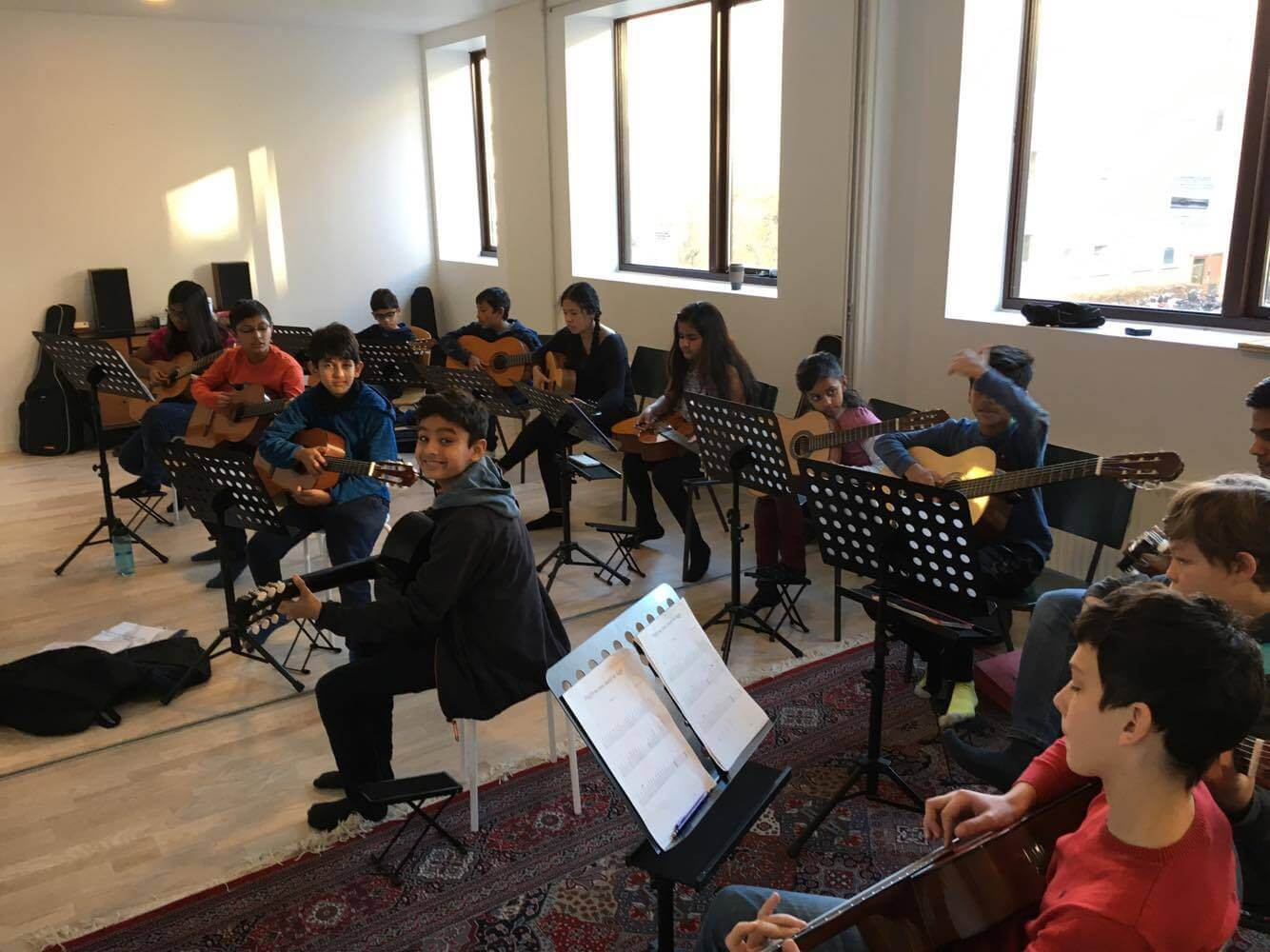 Orchestra project rehearsals 2