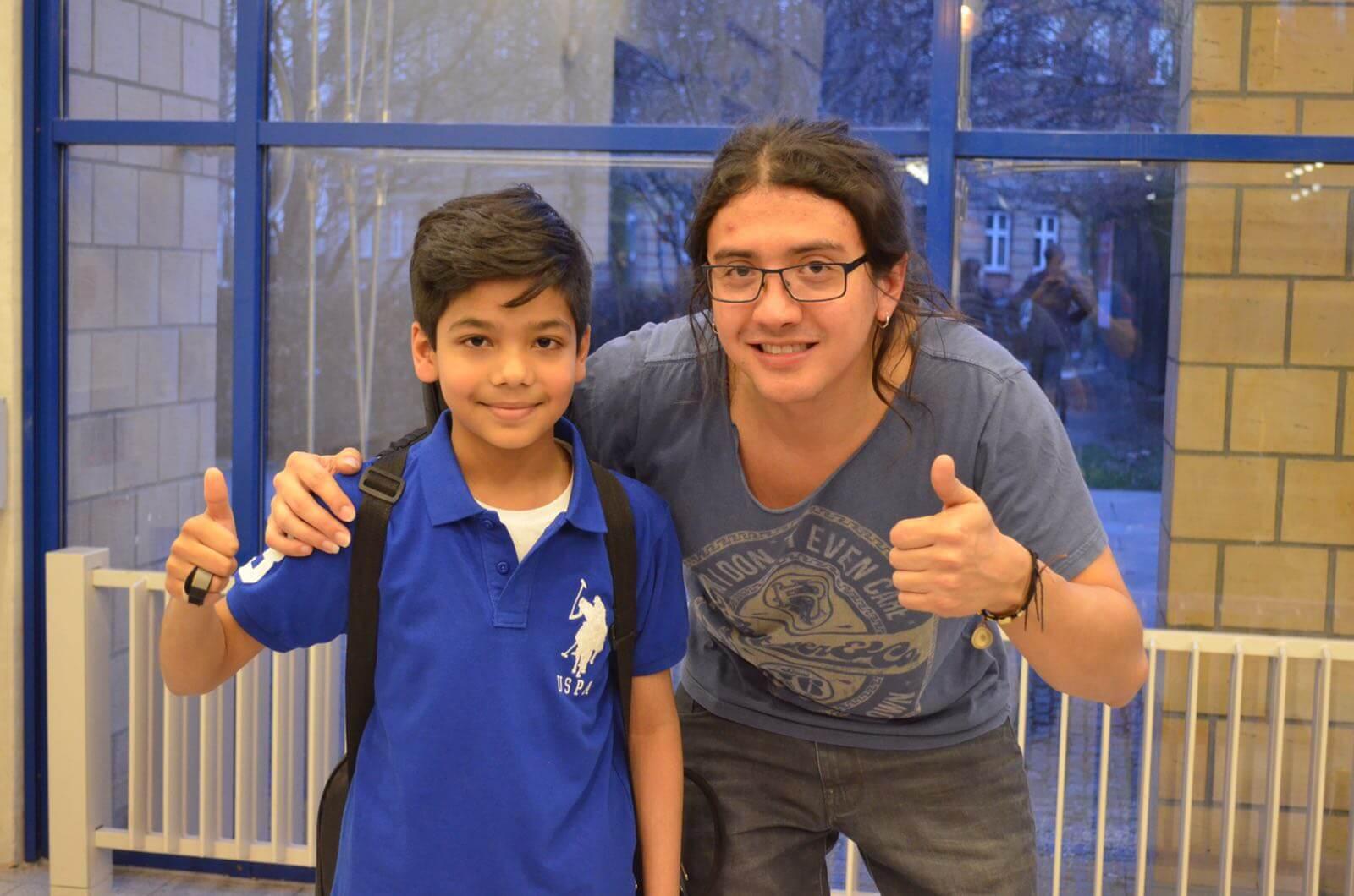 Aryan and Carlos