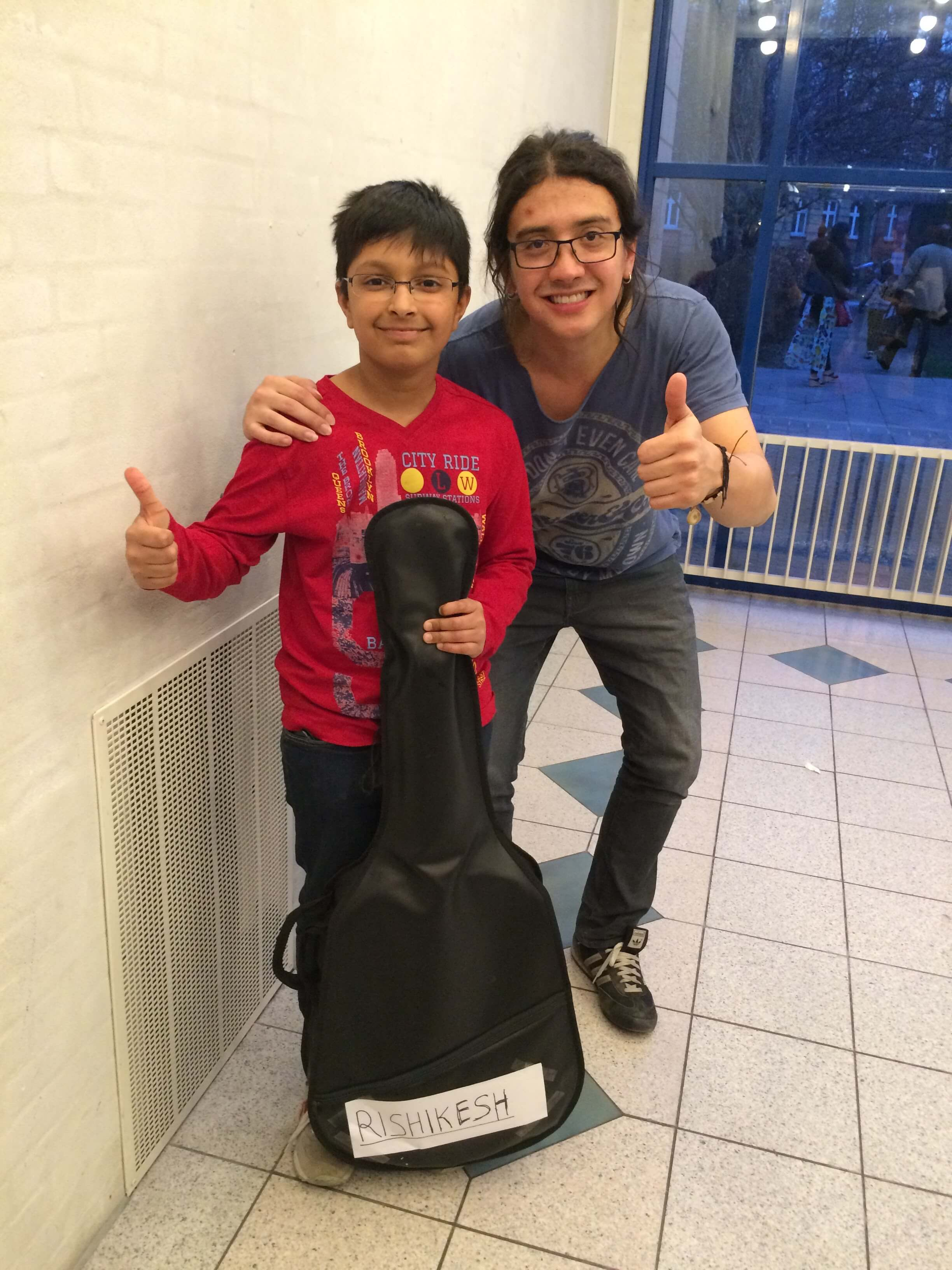 Rishi and Carlos